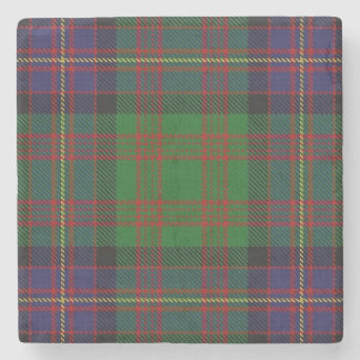 Old Scots Tavern Clan Cochrane Cochran Tartan Stone Beverage Coaster