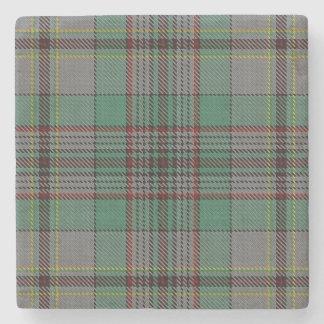 Old Scots Tavern Clan Craig Tartan Stone Beverage Coaster