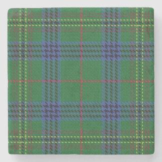 Old Scots Tavern Clan Kennedy Tartan Stone Coaster