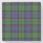 Old Scots Tavern Clan MacEwen McEwen Tartan Stone Coaster