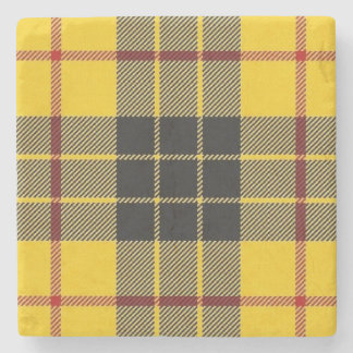 Old Scots Tavern Clan MacLeod Tartan Stone Coaster