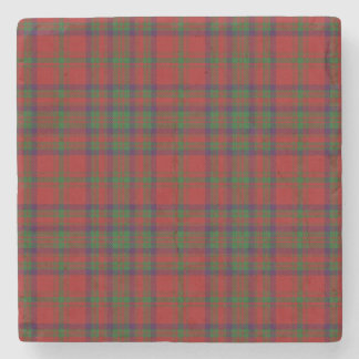 Old Scots Tavern Clan Matheson Tartan Stone Coaster