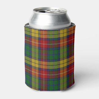 Old Scotsman Clan Buchanan Tartan Can Cooler