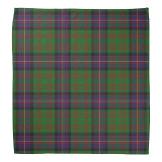 Old Scotsman Clan Cochrane Cochran Tartan Plaid Head Kerchief