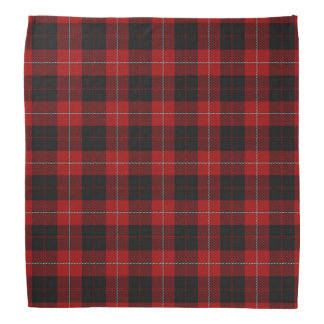 Old Scotsman Clan Cunningham Tartan Plaid Bandana