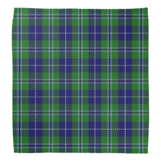 Old Scotsman Clan Douglas Tartan Plaid Head Kerchiefs
