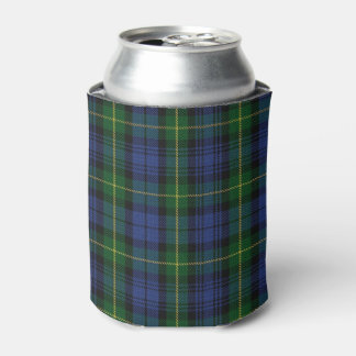 Old Scotsman Clan Gordon Tartan Can Cooler