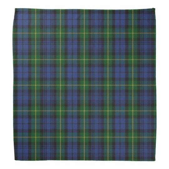 Old Scotsman Clan Gordon Tartan Plaid Do-rag