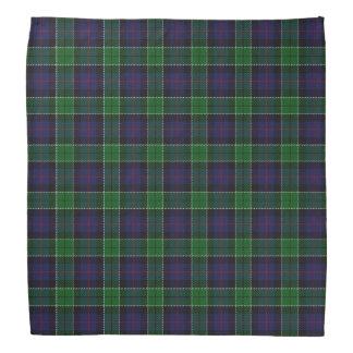 Old Scotsman Clan Leslie Hunting Tartan Plaid Bandana