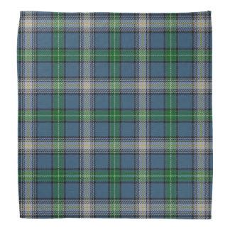 Old Scotsman Clan MacDowall McDowell Tartan Plaid Bandana