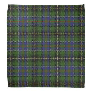Old Scotsman Clan MacInnes Tartan Plaid Bandana