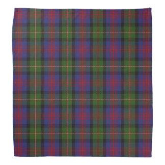 Old Scotsman Clan MacLennan Tartan Plaid Bandana