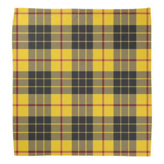Old Scotsman Clan MacLeod Tartan Plaid Bandana