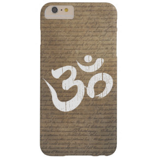 Old Scratched Om Symbol Yoga Barely There iPhone 6 Plus Case