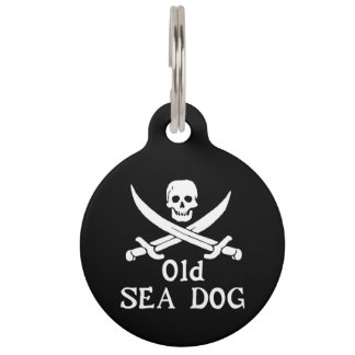 Old Sea Dog Pet Tag