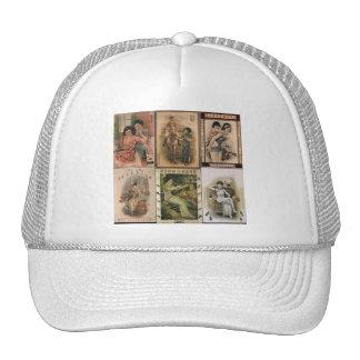 Old Shanghai Poster Women Trucker Hat