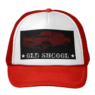 OLD SHCOOL TRUCKER HAT
