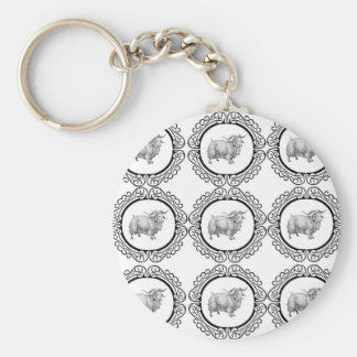 old sheep in bunch keychain