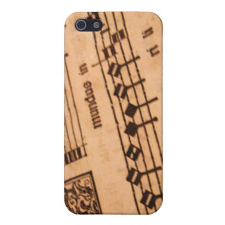 Old Sheet Music iPhone 5/5S Covers