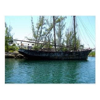 Old Ship Postcard