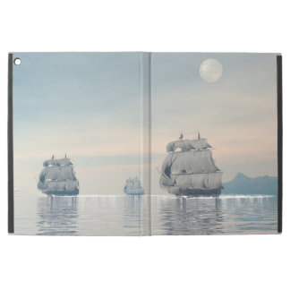 "Old ships on the ocean - 3D render iPad Pro 12.9"" Case"