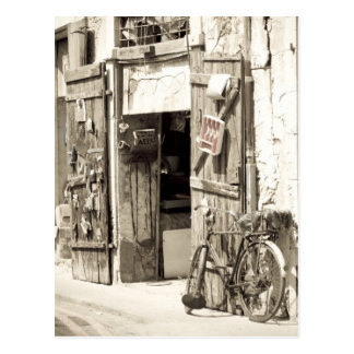 Old shop postcard