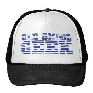 OLD SKOOL GEEK cute computer design Trucker Hat
