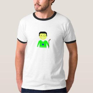 Old Skool Hockey Ringer T T-Shirt