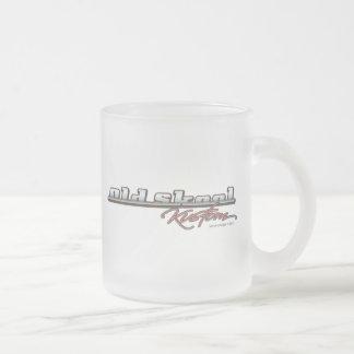 Old Skool Kustom Frosted Glass Coffee Mug