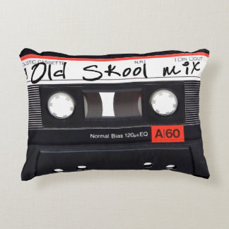 "Old Skool Mix Brushed Polyester Pillow 16"" x 12"""