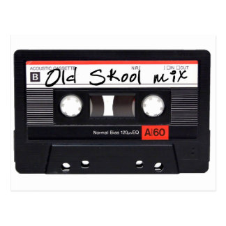Old Skool Mix Postcard