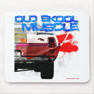 Old Skool Muscle Mouse Pad