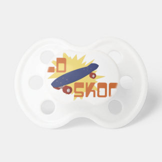 Old Skool Skateboard Pacifiers