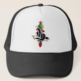 Old Skool Tattoo Eagle & Dagger Trucker Hat
