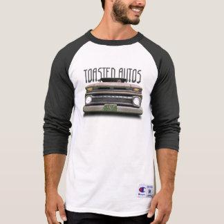 Old Skull Colorado Pickup Truck Shirt Black White
