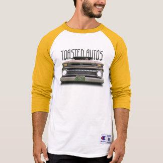 Old Skull Colorado Pickup Truck Shirt Yellow White