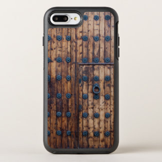 Old Small Door Within Large Doors OtterBox Symmetry iPhone 8 Plus/7 Plus Case