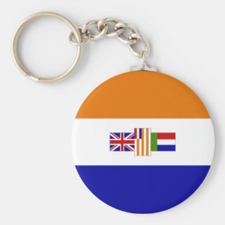 Old South African Flag Keychain