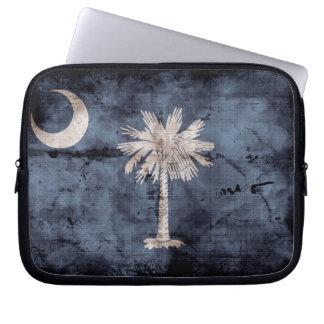 Old South Carolina Flag; Laptop Sleeve