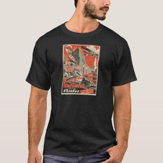Old Soviet Czech Propaganda Apparel T-Shirt