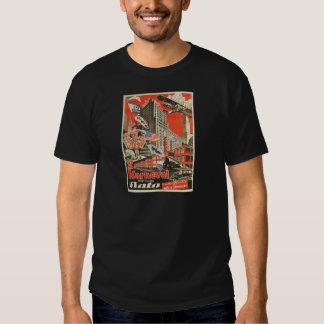 Old Soviet Czech Propaganda Apparel Tshirts