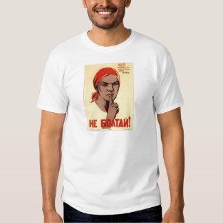 Old Soviet Russian Propaganda Apparel T-shirt