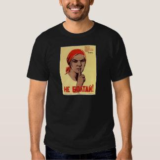 Old Soviet Russian Propaganda Apparel Tshirts