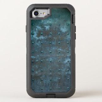 Old Spanish Copper Tarnished Metal Door OtterBox Defender iPhone 8/7 Case