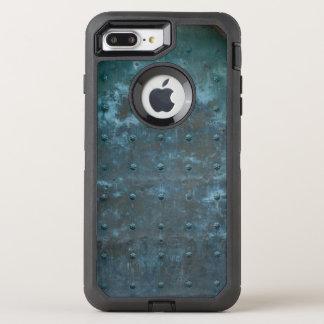 Old Spanish Copper Tarnished Metal Door OtterBox Defender iPhone 8 Plus/7 Plus Case