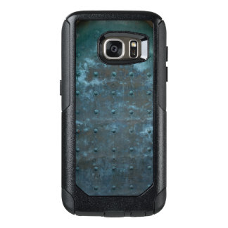 Old Spanish Copper Tarnished Metal Door OtterBox Samsung Galaxy S7 Case