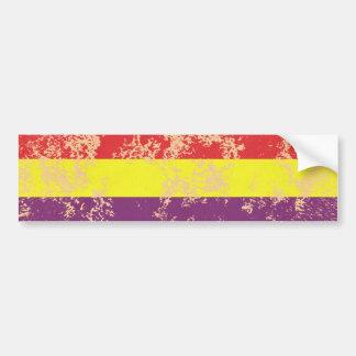 Old Spanish Republic Bumper Sticker