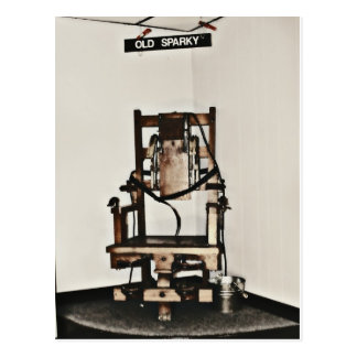 Old Sparky Postcard