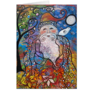 Old St. Nick Christmas Note Cards