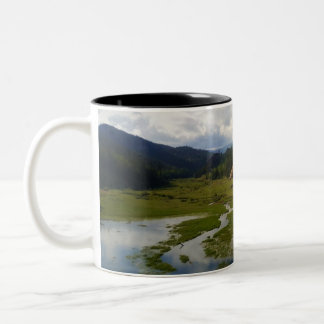 Old Stage Road Two-Tone Coffee Mug